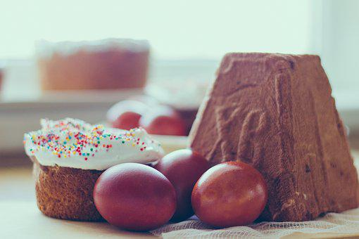 Easter, Easter Cake, Eggs, Food, Holiday