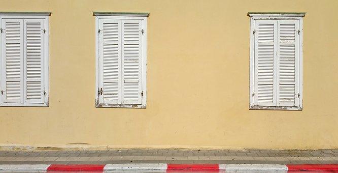 Window, Old Window, Background, Wall, Location, Empty