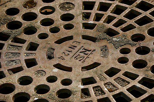 Manhole Covers, Outdoors, Industrial