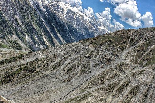 Hdr, Jammu, Mount, Himalaya, Mountain, Landscape