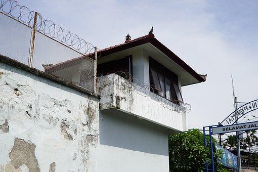 Indonesia, Bali, Denpasar, Prison, Kerobokan, Tower