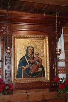 Icon, Image, Lamps, Religion, Vera, Orthodoxy, Church