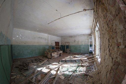 Village, Shop, Market, Exclusion Zone, Ukraine