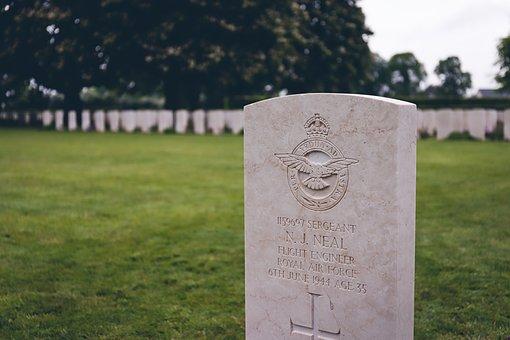 Tombstone, Memorial, Bravery, Grave, Cemetery