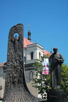 Monument, Taras Shevchenko, Church, Peter And Paul