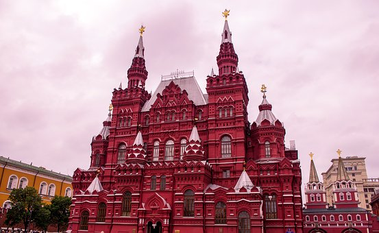 Red Square, Moscow, Russia, City, Urban Square