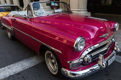 Cuba, Havana, Capitolio, Paseo Del Prado