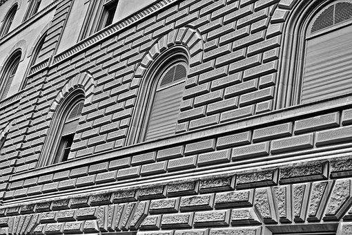 Brickwork, Stone, Building, Facade, Material, Pattern
