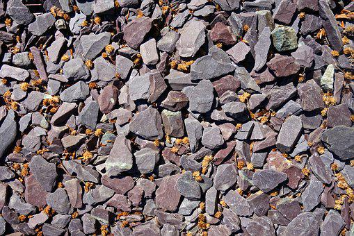 Stone, Pebble, Rock, Gray, Material, Underfoot, Surface