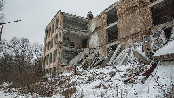 Ruin, School, Building, Demolition, Pripyat, Chernobyl