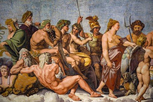 Villa Farnesina, Raphael, Raphaël, Rafaello, Ceiling