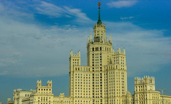 Building, Architecture, Moscow, Russia, City