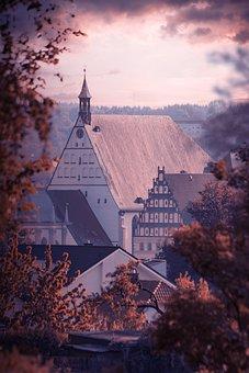 Freiberg, City, Historically, Architecture, Saxony