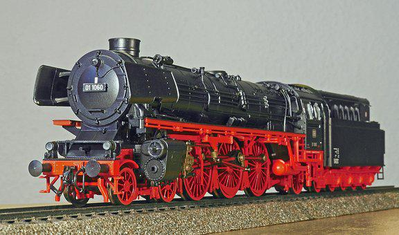 Steam Locomotive, Model, Scale H0, Br01, Br 01