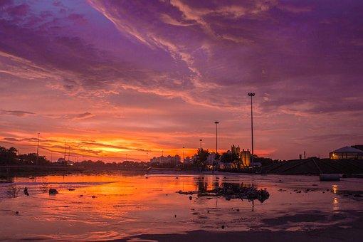 Sunset, Dramatic, Co, Sky, Nature, Sunrise, Cloud