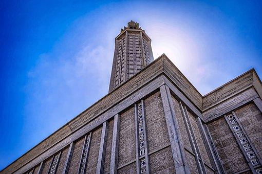 St, Joseph's Church, Le Havre, Normandy, Architecture