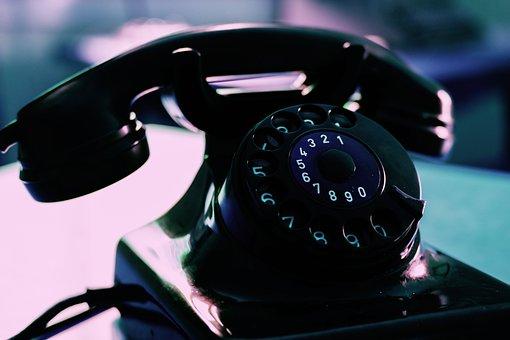 Phone, Telephone, Dial, Dial Phone, Telephone Handset