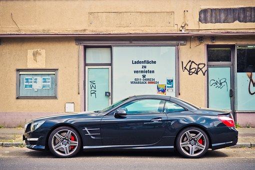 Auto, Suburban, Vehicle, Pkw, Architecture, Mercedes