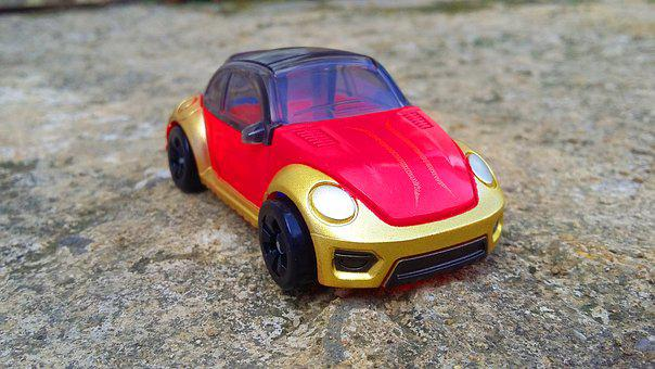 Car, Miniature, Volkswagen, Car Miniature, Vehicle, Man