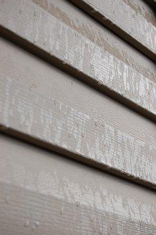 Texture, Siding, Rain, Beige, Panel, Wall, Pattern