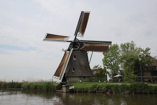 Mill, Miller's Day, Mill Blades, Wicks, Wind Mill
