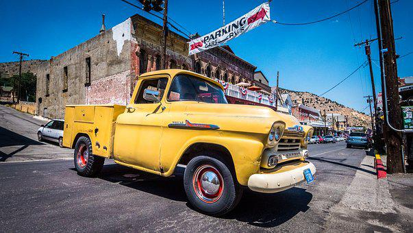 Car, Nevada, Old Car, Collection, Older Vehicles