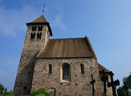 Romanesque, Church, Czechia, Architecture, Heritage