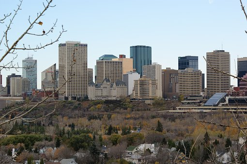 Edmonton, City, Downtown, Urban, Architecture