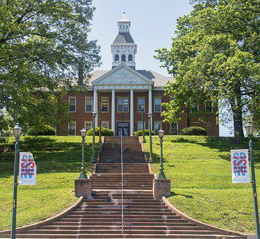 Courthouse, Court, Town, Government, Building