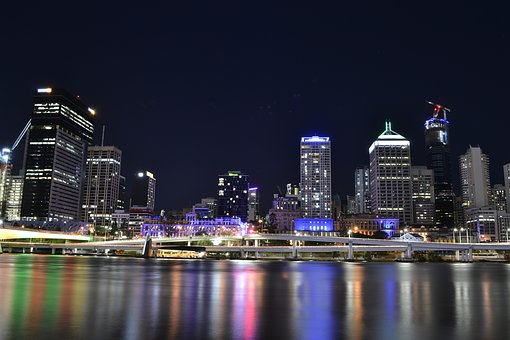 City, Brisbane, Queensland, Skyline, Downtown