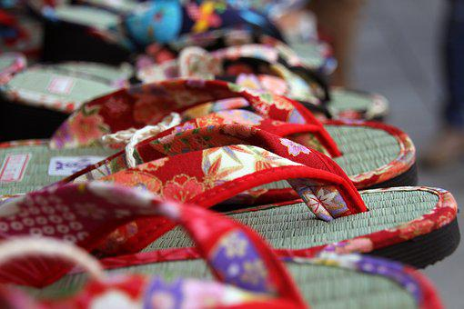 Zori, Japanese, Shoes, Traditional, Footwear, Flip-flop