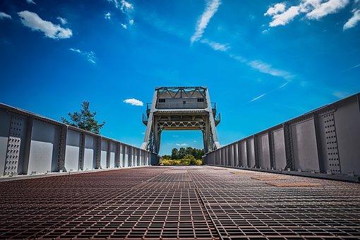 Pegasus Bridge, Normandy, France, Bridge, Pegasus