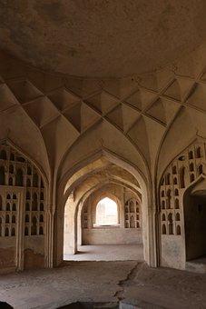 Golconda Fort, Architecture, Hyderabad, India