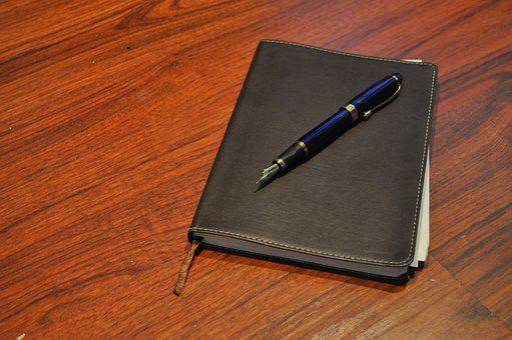 Journal, Book, Pen, Fountain Pen, Ink, Writing, Writer