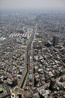 View, Tokyo, Japan, Tower, Skytree, Landmark, Urban