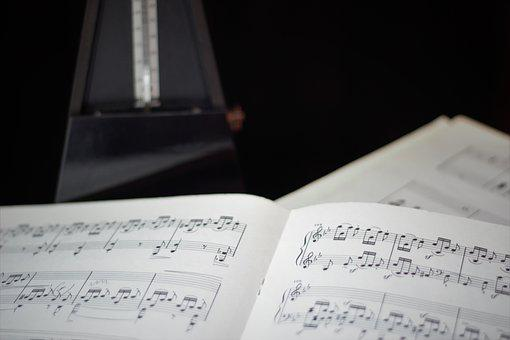 Lyrics, Metronome, Pace, Sheet Music, Note, Music