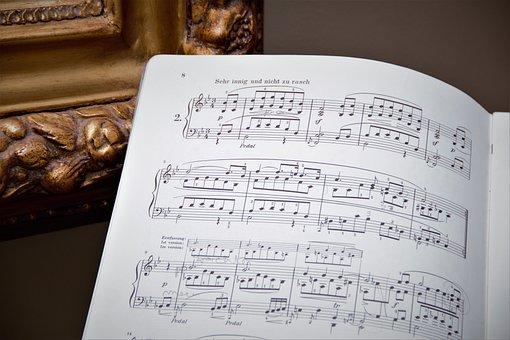Lyrics, Old Fashioned, Sheet Music, Note, Music