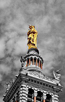 Marseille, France, Provence, Mediterranean, City