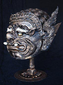 Giant, Mask, Thai, Metal