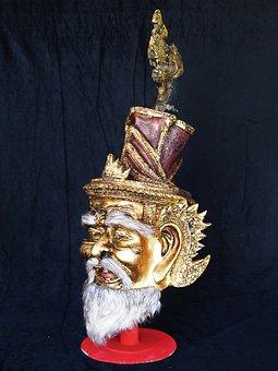 Naga, Mask, Thai