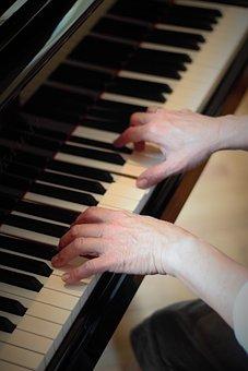 Piano, Music, Instrument, Pianist, Jazz, Musician