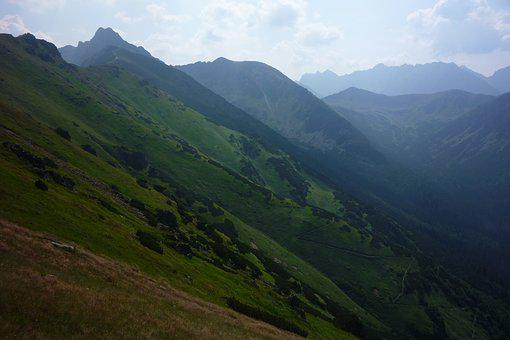 Tatry, Poland, Mountains, Landscape, Nature, Top View