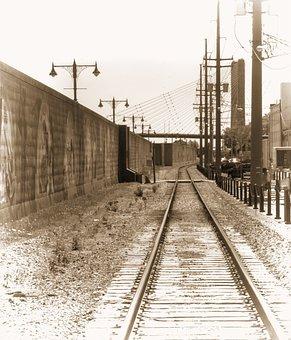 Train, Tracks, Railroad, Transportation, Railway