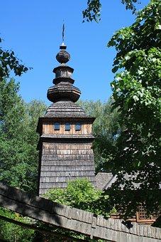 Church, Wooden Church, Religion, Vera, Ukraine, Lviv