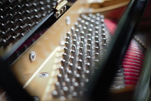 Piano, Music, Instrument, Pianist, Strings, Close Up