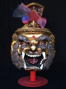 Tiger, Mask, Thai
