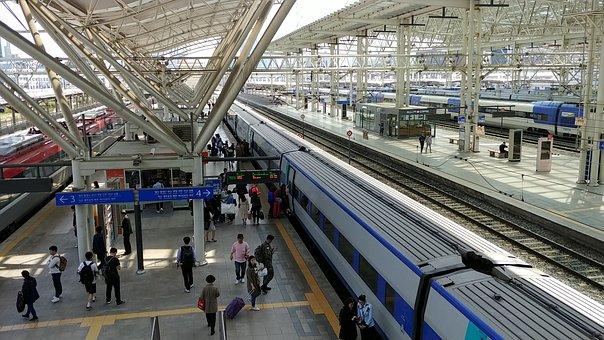 Train Station, Ktx, Railway, Travel, The Railroad Line