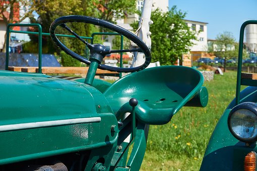 Tractor, Oldtimer, Restored, Agriculture, Tractors