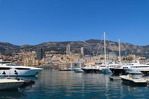 Monaco, Monte Carlo, The French Riviera, Port, Boats