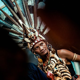 Culture, Dayak, Kalimantan, Borneo, Traditional, Exotic